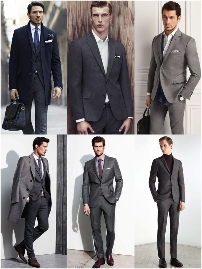 Navy Suit With Black Dress Shoes